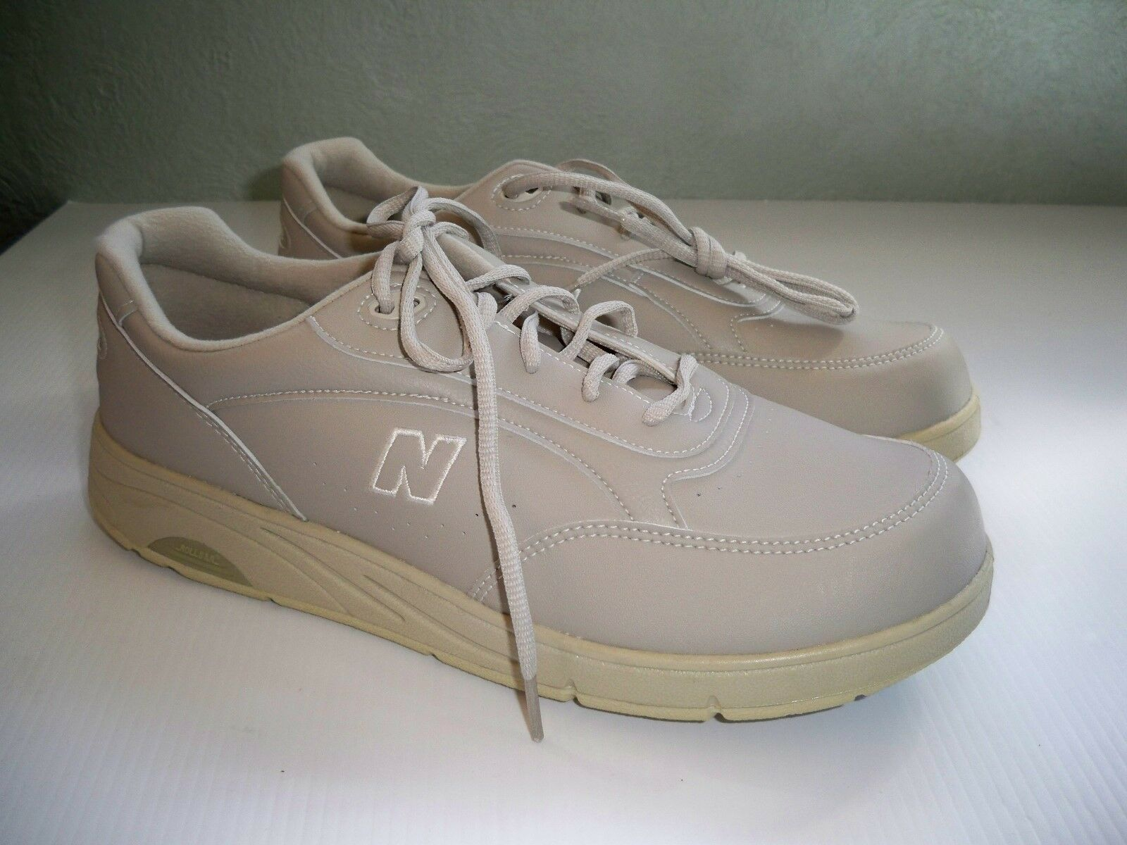 New Men's New Balance DSL-2  MW811BE Beige Walking Oxford USA MADE 11.5 D
