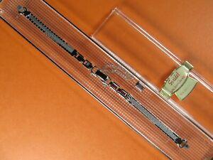 Vintage-Speidel-10K-WHITE-Gold-Filled-Ladies-Watch-Band-5-1-4-034-w-Xtra-1-4-034-Link