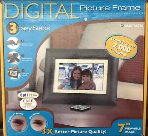 Smartparts Sp70d 7 Inch Photo Frame Black 92566876502 Ebay