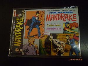 MANDRAKE L'UOMO DEL MISTERO n° 7 - COMIC ART - 1992