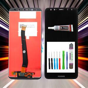 MS LCD Display passt für Huawei Ascend Nova 2i RNE-L02, RNE-L22 Schwarz +TOOL