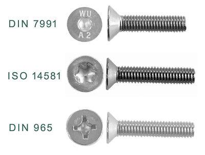 50, M4x16 mm Innensechskant V2A Senk A2 Edelstahl 50 St/ück Senkkopf Schrauben M 4x16 mm DIN 7991 Senkkopfschrauben