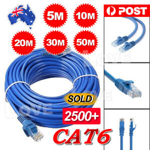 5m-10m-20m-30m-50m-Ethernet-Network-Lan-Cable-CAT6-1000Mbps