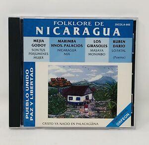 Folklore-De-Nicaragua-Pueblo-Unido-Paz-y-Libertad-Various-Artists-CD