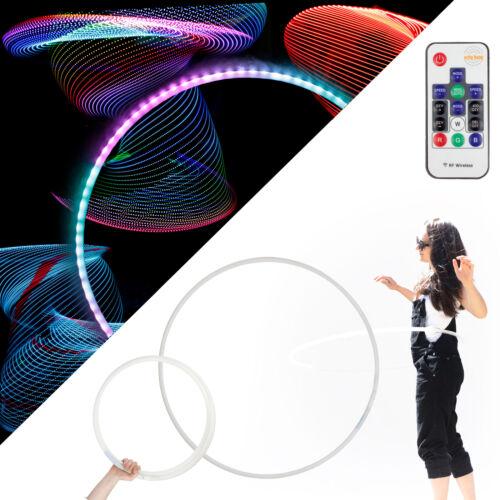 ECHO Glow 84 LED Telecomando brillano Hula Hoop 95cm