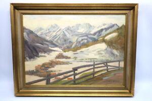 Gemälde Aus dem Gebiet Mittenwald von Hans Härdtlein  M11B16201