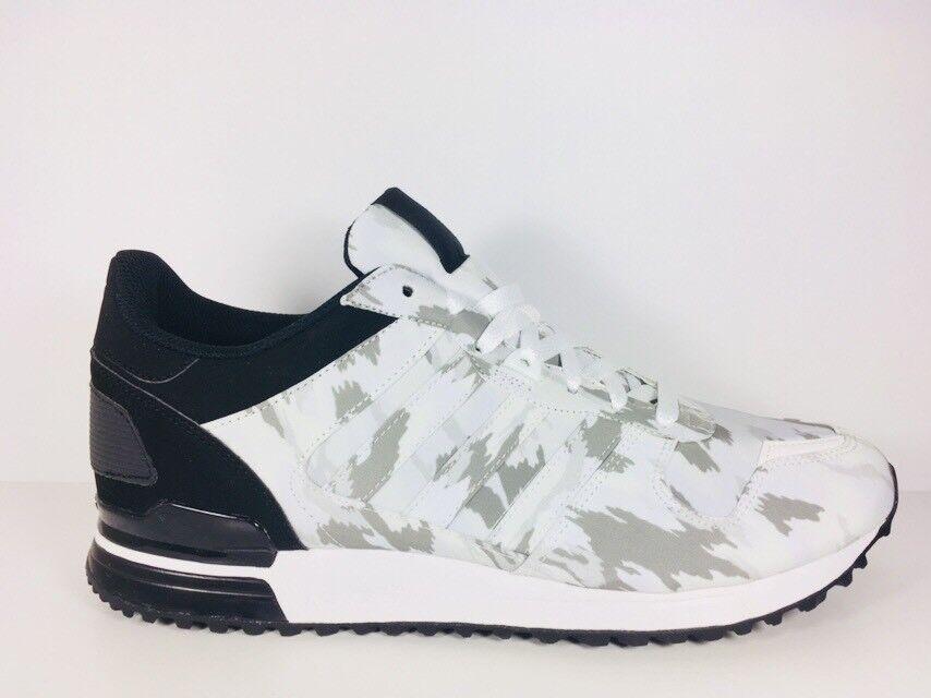 Adidas Original Original Original ZX 700 Running White Black shoes Mens B24836  Size - 12 bd2a99