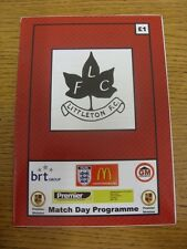 10/10/2015 Littleton v Racing Club Warwick  . Any faults with this item have bee