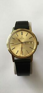 eb85a2eb59f Image is loading Vintage-Omega-Watch-Automatic-Swiss-made-Geneve-Gold-