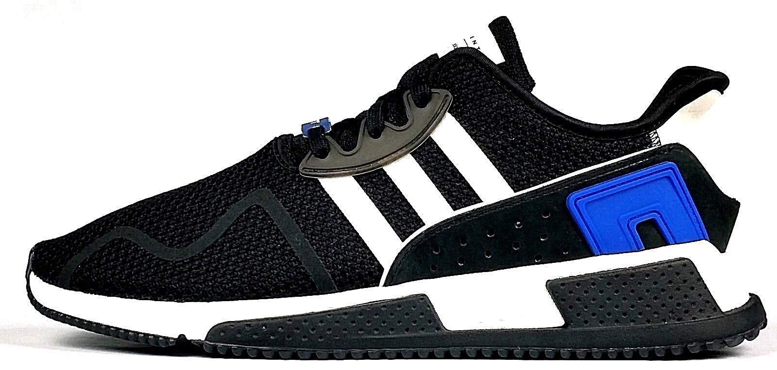 Adidas Originals EQT Cushion ADV Men's Casual Casual Casual shoes Core Black Royal bluee White 9622d1