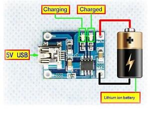 New-5V-Mini-USB-1A-TP4056-Lithium-Battery-Charging-Charger-Module-Hot-ATAU