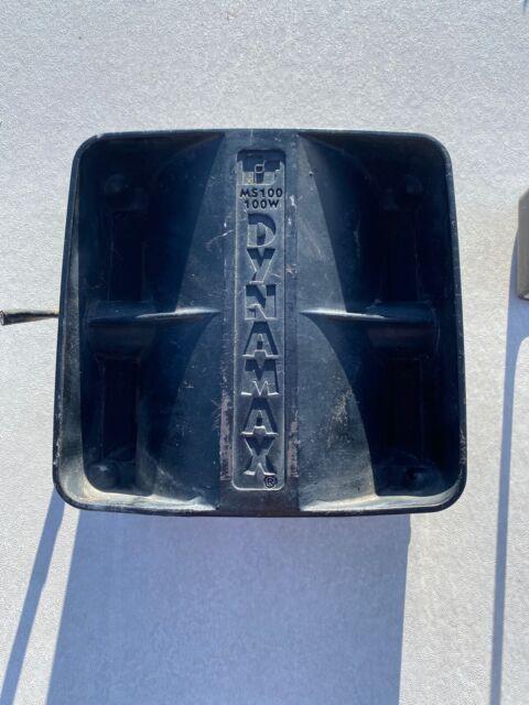 bracket 2 Federal Signal Dynamax 100 Watt Police Siren Motorcycle Speaker MS100