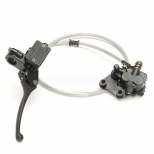 Left-Front-Hydraulic-Caliper-Brake-Master-Cylinder-For-Pit-Dirt-Bike-ATV-110cc