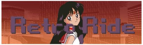 Retro Ride Slap Vinyl Decal Sticker JDM Drifting Anime Sailor Mars Moon