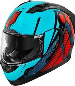 Icon-Alliance-GT-Primary-Blue-Red-Helmet-Motorcycle-Street-Adult-Flip-Shield
