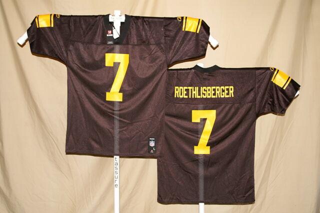 Ben Roethlisberger Pittsburgh Steelers Reebok Jersey Large Alt | eBay  for sale