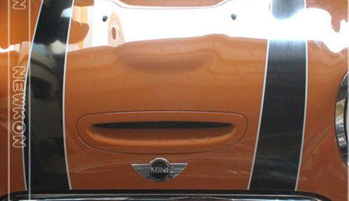 Bonnet Boot Sticker Stripes Stripe Graphics For Mini Cooper Clubman S Coupe