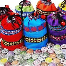 Nuevo Bolsa China para Té Semillas Regalos Girasol de Caramelo Diseños Coloridos