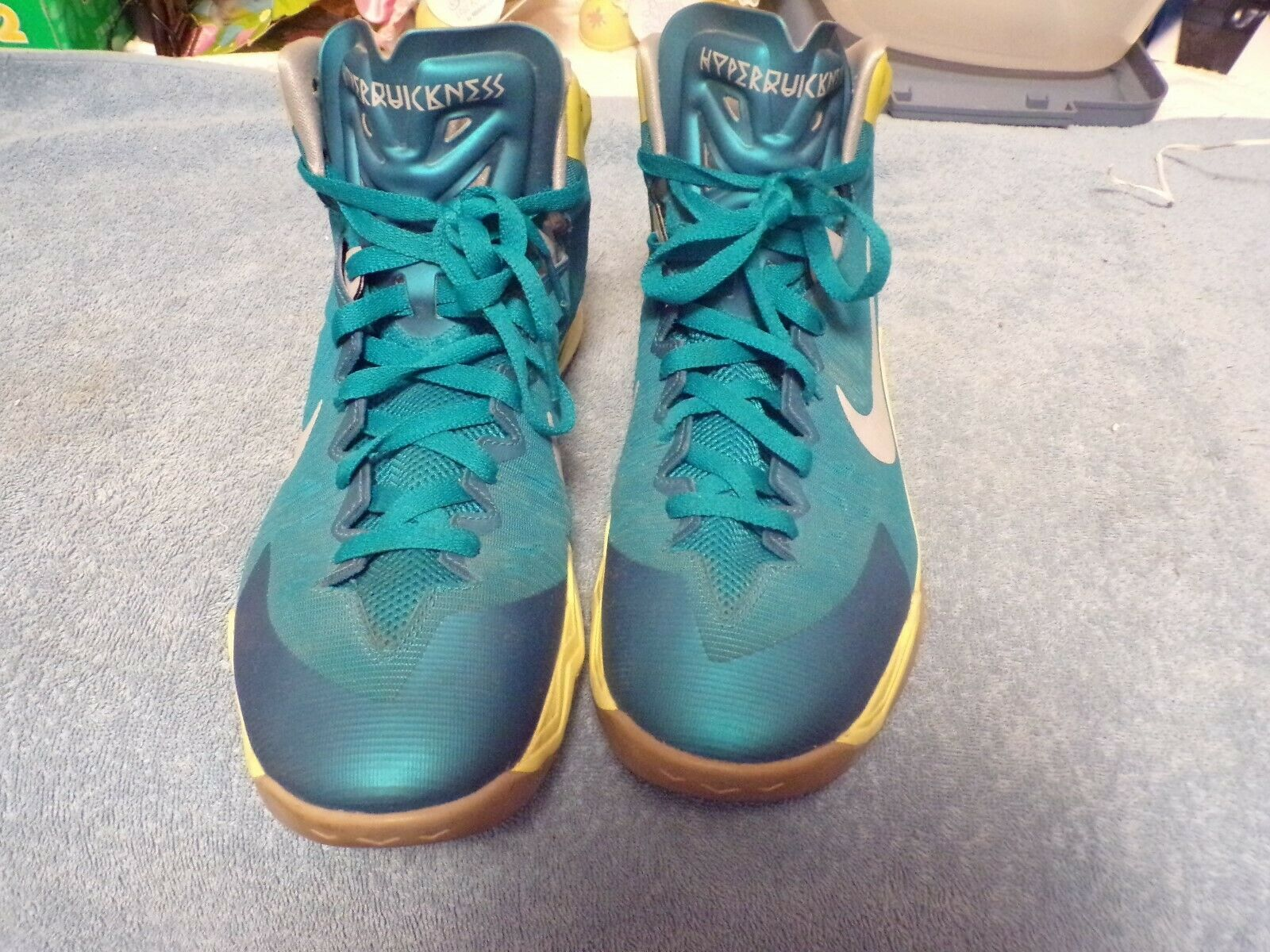 Pair of HyperQuickness Nike shoes (Size 12.5)