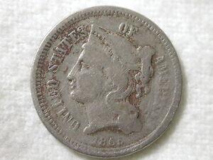 1865-U-S-3-Cent-Nickel-Piece-Very-Fine