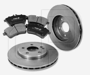 2-Bremsscheiben-4-Bremsbelage-MERCEDES-A-Klasse-W169-B-Klasse-W245-vorne-288mm