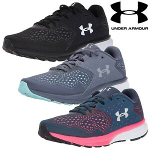 155c712591 Details about Under Armour Charged Rebel Trainers Women's Running Shoes  Sports Sneakers