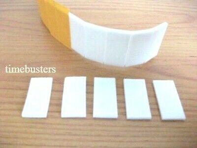 Blanco doble cara fácil pelar almohadillas de espuma adhesivas fijadoras 3D Decoupage permanente
