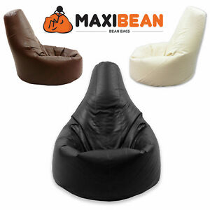 Beanbag-Gamer-Arm-Chair-Adult-GAMING-Bean-Bag-Faux-Leather-Game-XL-Seat-POD-Bags