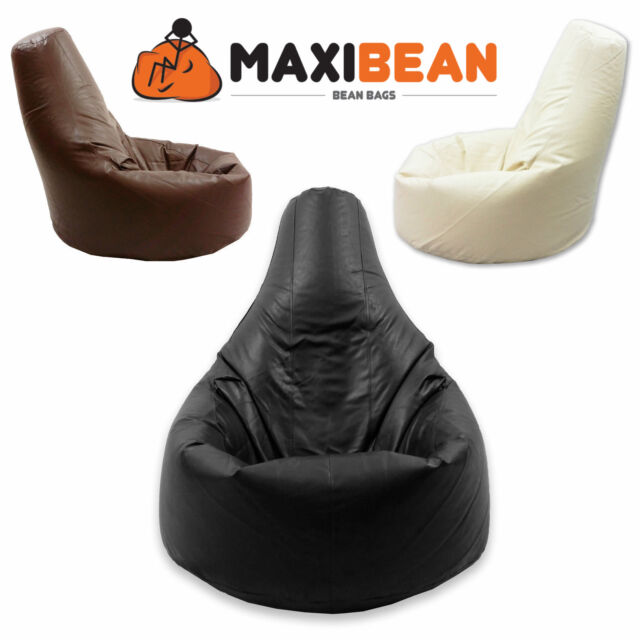 Beanbag Gamer Arm Chair Adult GAMING Bean Bag Faux Leather Game XL Seat POD Bags