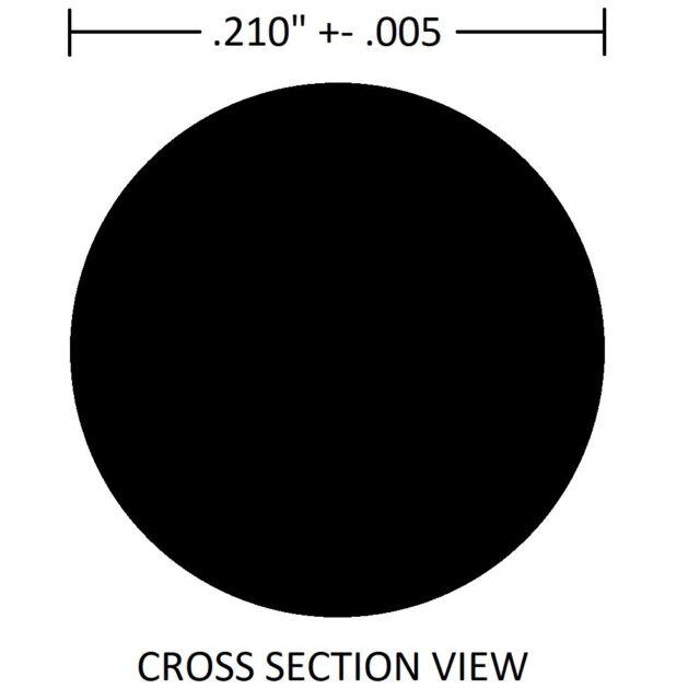 2-021//V7-15//16 X 1-1//16 X 1//16 Viton O-Ring 10 Pack