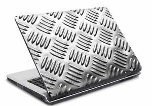 Laptop-Notebook-Netbook-Skin-Sticker-Folie-Schutz-Aufkleber-Metal-26x19-NEU