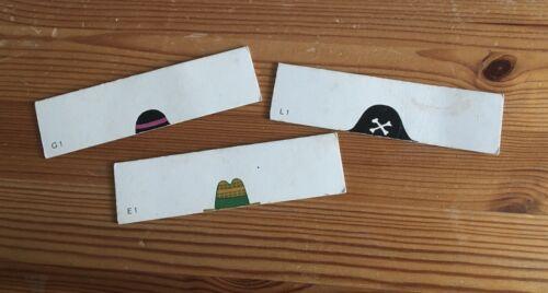 mit Buchstaben und Zahlen Mix Max Ravensburger drei Ersatzteile Hüte