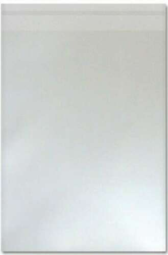 250 Clear Cellophane Self Seal Display Bags to fit a 5x7 Envelope 133mm x 184mm