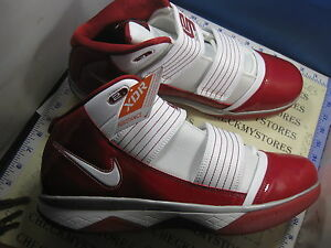 442aae9be9e NIB NIKE ZOOM SOLDIER III 3 TB WHITE VARSITY CRIMSON RED 367183-113 ...
