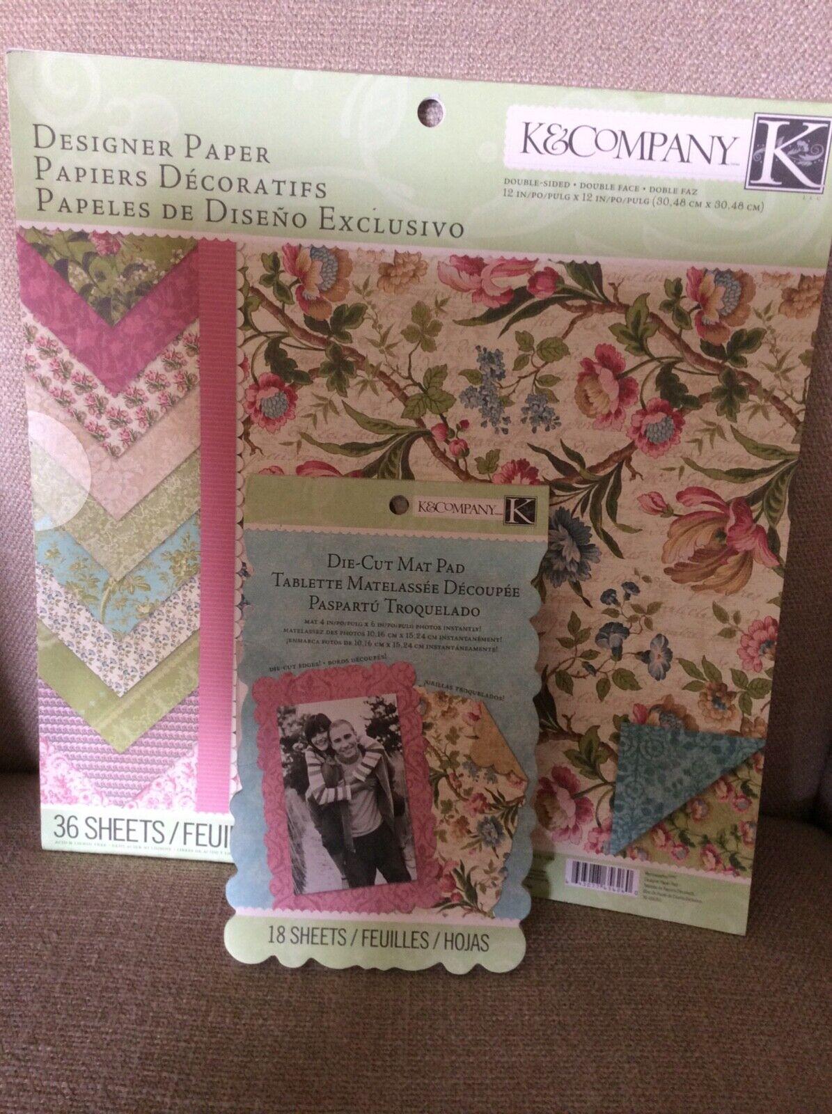 K /& Company Elegance Acetate and cardstock Wedding Die Cut Scrapbook Pack