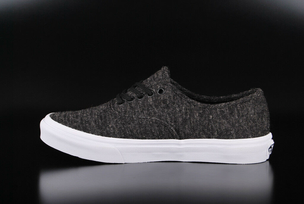 VANS BLACK AUTHENTIC SLIM JERSEY BLACK VANS TRUE Weiß SNEAKER SCHUHE 37cc62