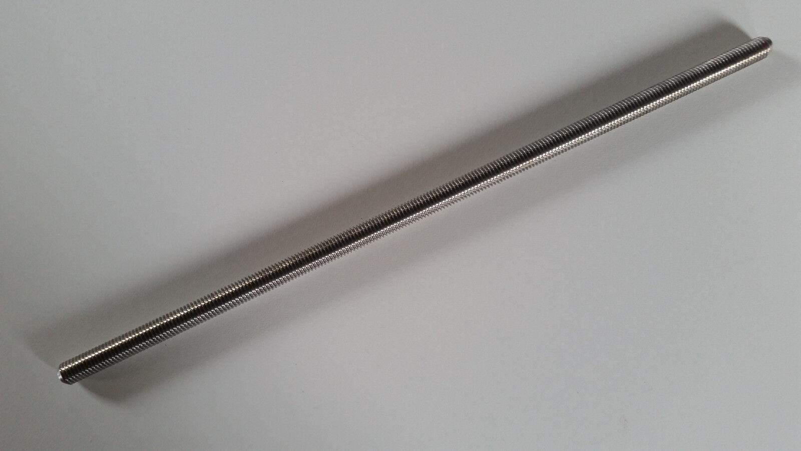 Eine gewindestange  300mm M 2 - M24 DIN 976 rostfreier edelstahl V4A A4