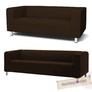 Sofa ikea klippan  Brown Cover Slipcover to fit IKEA KLIPPAN 2 or 4 Seater Sofa ...