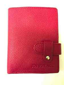 Jos-Von-Arx-Italian-Leather-Designer-Pink-Leather-Wallet-IL72-Testudo-Collection
