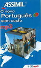 O Novo Portugues Sem Custo by Assimil (CD-Audio, 2009)