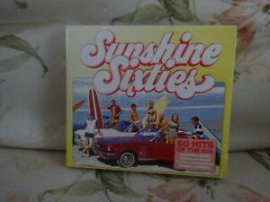 Various-Artists-Sunshine-Sixties-CD-3-x-discs-2018-New-Free-uk-Postage