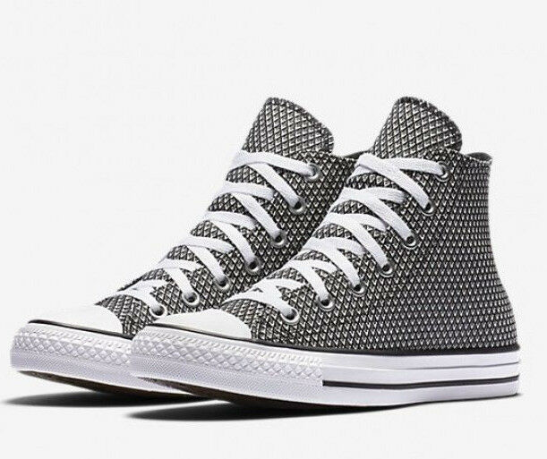 a7c72f44ed2a Converse Ct All Star Womens Basket Woven Hi Top SNEAKERS Size 7.5 ...