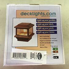 DECKLIGHTS.COM DLA 6042 NEW IN BOX DECK LIGHT NATURAL 12V 18W SEE PICS SHELF C