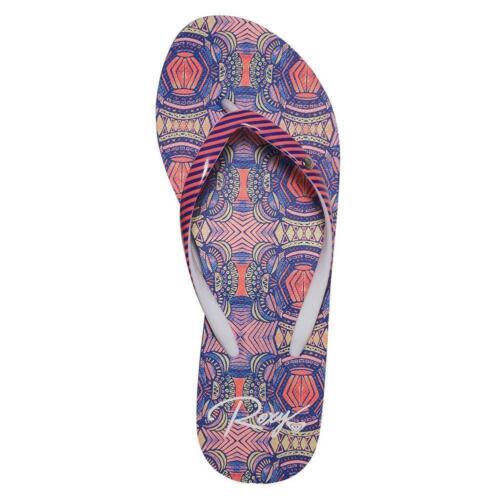 Roxy Portofino Sandales Rouge//bleu ROXY Chaussures Femmes Sandales /& Beach Shoes