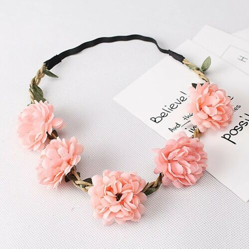 Hair band with flowers