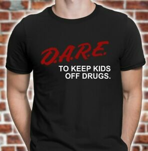 DARE-Shirt-retro-D-A-R-E-shirt-90s-vintage-style-dare-t-shirt-FREE-SHIPPING