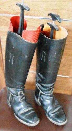 Taille 3 en Tall Regent noir cuir Bottes Pro d'équitation 0wqB0Oa
