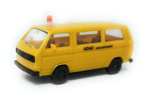 Herpa H0 1:87 Volkswagen VW T3 Bus ADAC Auslandsdienst Modellauto Kunststoff