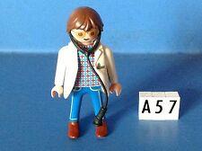 (A57.1) playmobil personnage vétérinaire, infirmière, hôpital ref 4343 4404