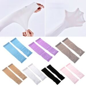 UV-Sun-Protection-Cooling-Sport-Arm-Sleeves-Gloves-Golf-Bike-Cycling-Cover-1Pair